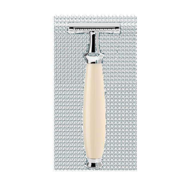 Rasoir de sûreté peigne fermé Mühle résine ivoire