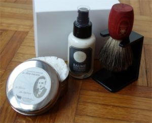 Coffret soins de rasage