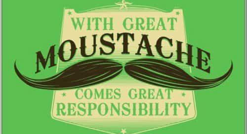 Movember, on rase tout et on laisse pousser la moustache !