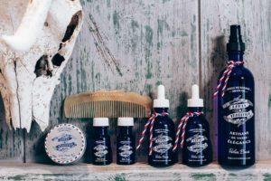 brosse à barbe de poche - Lames & tradition