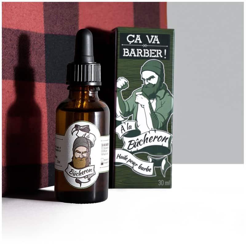 Dynamisez votre barbe et rendez vos poils plus résistants avec cette huile pour barbe fortifiante parfaite pour les bûcherons !
