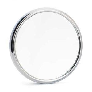 Ce miroir de rasage à ventouses x5 vous apporte un maximum de précision pour un rasage de près comme pour le dessin des contours de votre barbe !